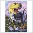cross stitch pattern Green Rex