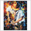cross stitch pattern Guitar and Soul 2 (Large)