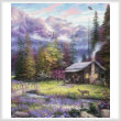 cross stitch pattern Inspiration of Spring Meadows (Crop)