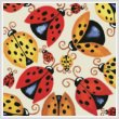 cross stitch pattern Ladybugs