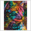 cross stitch pattern Mini Felis