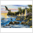 cross stitch pattern Peaceful Waters