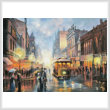 cross stitch pattern Sydney by Gaslight