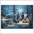 cross stitch pattern Silent Night