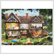 cross stitch pattern Summer House (Large)