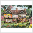 cross stitch pattern Spring House (Large)