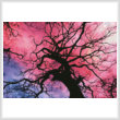 cross stitch pattern Twilight Tree