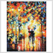 cross stitch pattern Under One Umbrella 2 (Large)