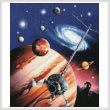 cross stitch pattern Universe