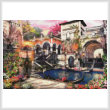 cross stitch pattern Venice Courtship