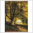 cross stitch pattern Woodland Scene in Summer