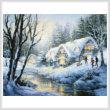 cross stitch pattern Winter Frolic