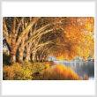 cross stitch pattern Baldneysee Autumn (Large)