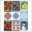 cross stitch pattern Cross Stitch Card Collection 4