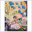 cross stitch pattern Fairy Ring Daydreaming