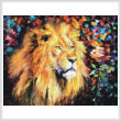 cross stitch pattern Lion of Zion (Large)
