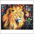 cross stitch pattern Lion of Zion