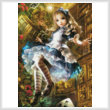 cross stitch pattern Mini Dear Alice (Crop)