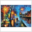 cross stitch pattern Melody of the Night (Large)