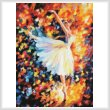 cross stitch pattern Ballet with Magic