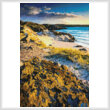 cross stitch pattern Mini Evening Light on Uig Bay