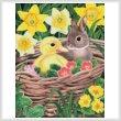 cross stitch pattern Spring Babies