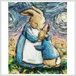 cross stitch pattern With Love (Crop Large)