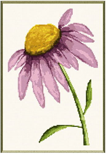 cross stitch pattern Daisy