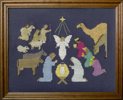 cross stitch pattern And It Came to Pass