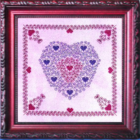 cross stitch pattern Sentimental