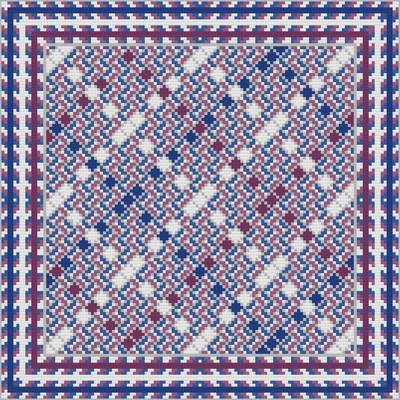 cross stitch pattern Variegated Argyle