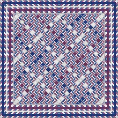 cross stitch pattern Variegated Argyle