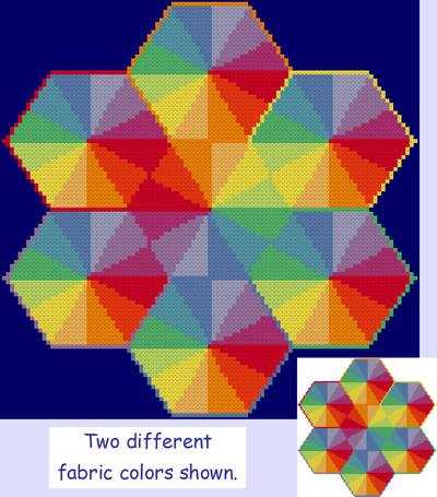 cross stitch pattern Conglomeration