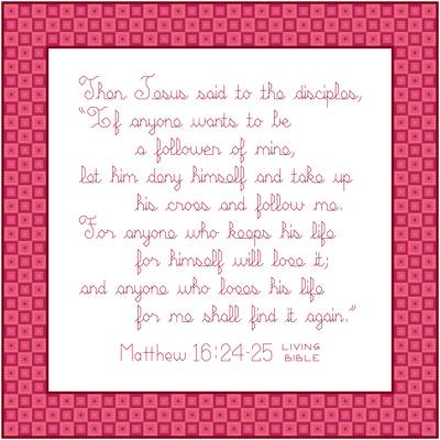 cross stitch pattern Followers of Jesus