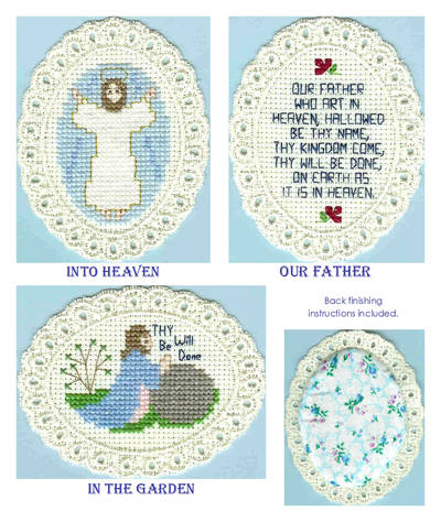 cross stitch pattern Divine Guidance