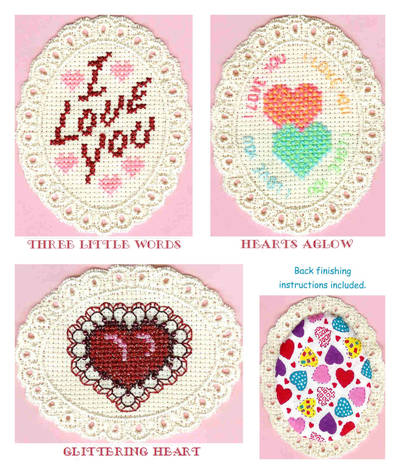 cross stitch pattern Love Is In The Air