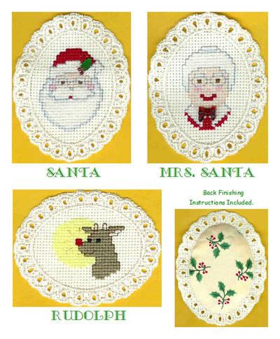 cross stitch pattern North Pole Residents