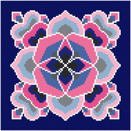 cross stitch pattern Intrigue