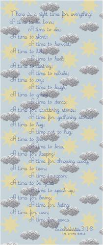 cross stitch pattern Right Time