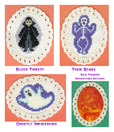 cross stitch pattern Scream Team