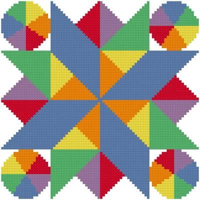 cross stitch pattern Summer Heat