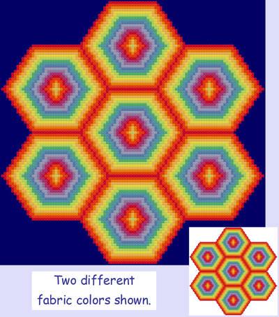 cross stitch pattern Excitement