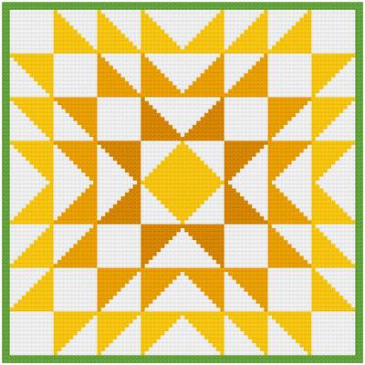 cross stitch pattern Chrysanthemum