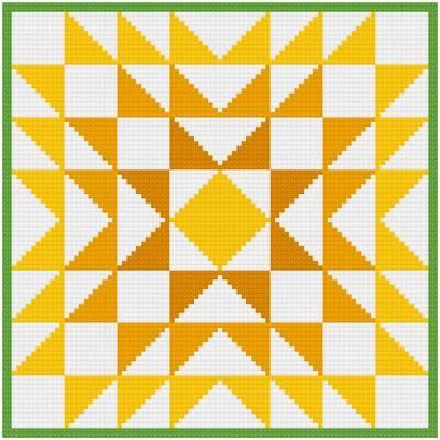 cross stitch pattern Chrysanthemum