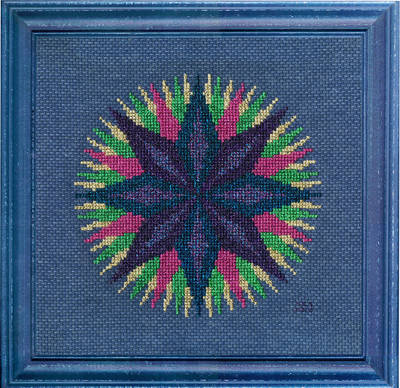 cross stitch pattern Glitz