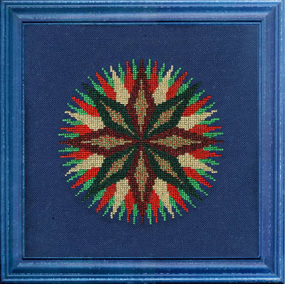 cross stitch pattern Glisten
