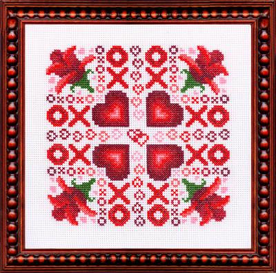 cross stitch pattern Infatuation