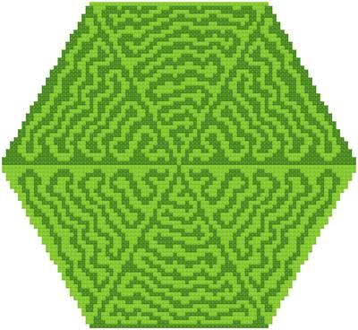cross stitch pattern Jungle Trails