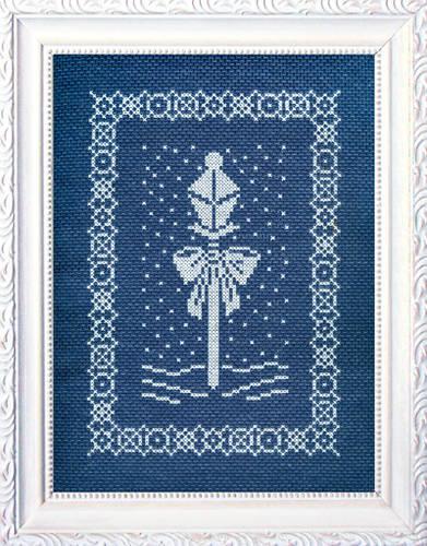 cross stitch pattern Light My Path