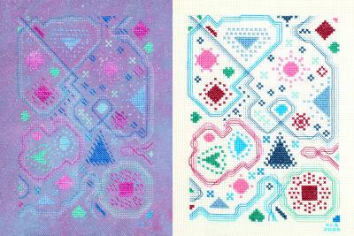 cross stitch pattern Is It My Eyes